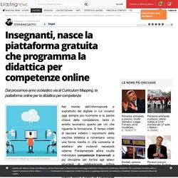 Insegnanti, nasce la piattaforma gratuita che programma la didattica per competenze online
