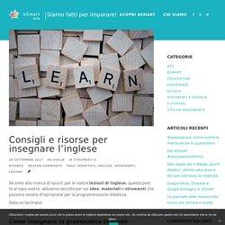 Insegnare l'inglese: consigli e risorse per le vostre lezioni