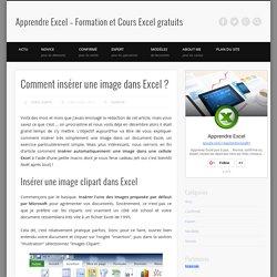 Insérer une image dans Excel - Apprendre-Excel.fr