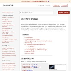 Inserting Images - ShareLaTeX, Online LaTeX editor