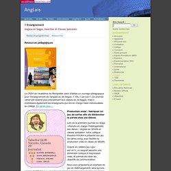 Anglais en SEGPA, Insertion et Classes spéciales - ressources