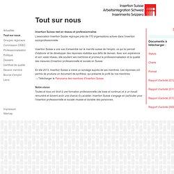 Insertion Suisse: Tout sur nous