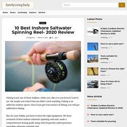 10 Best Inshore Saltwater Spinning Reel- 2020 Review