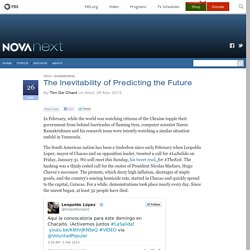 Inside the algorithms that are predicting the future — NOVA Next