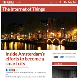 Inside Amsterdam's efforts to become a smart city