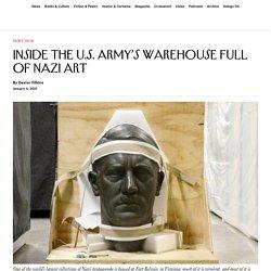 Inside the U.S. Army's Warehouse Full of Nazi Art