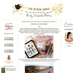 (Inside A Black Apple): Little Gifts for a Little Scribbler