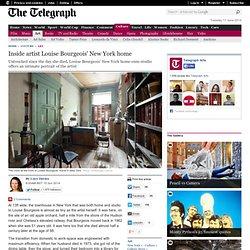 Inside artist Louise Bourgeois' New York home