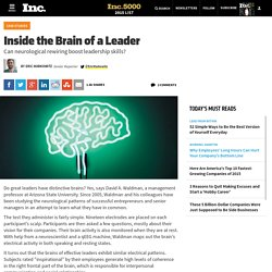Inside the Brain of a Leader