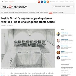 Inside Britain's asylum appeal system – what it's like to challenge the Home Office