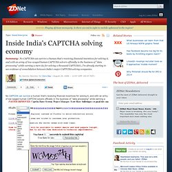 Inside India's CAPTCHA solving economy