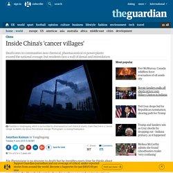 Inside China's 'cancer villages'