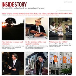 Inside Story | Politics, Society and Culture