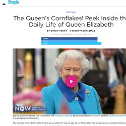 Peek Inside the Daily Life of Queen Elizabeth