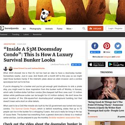 """""""Inside A $3M Doomsday Condo"""": This Is How A Luxury Survival Bunker Looks"""