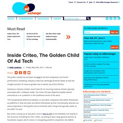 Inside Criteo: Examining The Gears That Run The Engine– AdExchanger