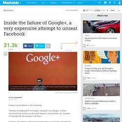 Inside the sad, expensive failure of Google+
