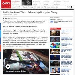 Inside the Secret World of Gamestop Dumpster Diving