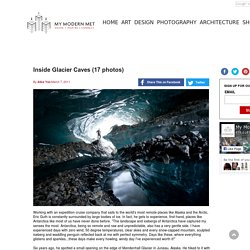 Inside Glacier Caves (17 photos)