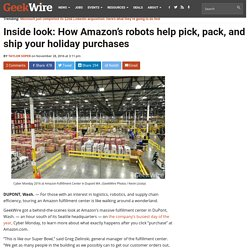 Inside look: How Amazon's robots help pick, pack, and ship your holiday purchases