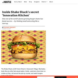 Inside Shake Shack's secret 'Innovation Kitchen'