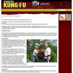 Inside Kung-Fu Magazine - Cane-Fu Gets A-Head