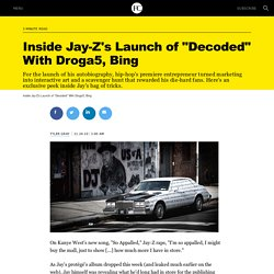 """Inside Jay-Z's Launch of """"Decoded"""" With Droga5, Bing"""