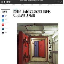 Inside London's Secret Crisis-Command Bunker