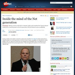 » Inside the mind of the Net generation | Between the Lines | ZD