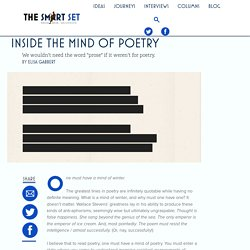 Inside the Mind of Poetry