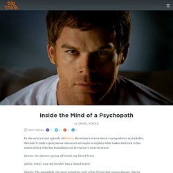 What Makes You A Psychopath Or An Extreme
