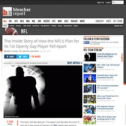 The Inside Story of How the NFL's Plan for Its 1st Openly Gay Player Fell Apart