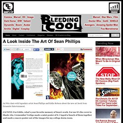 A Look Inside The Art Of Sean Phillips