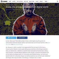 Inside the prison system's illicit digital world