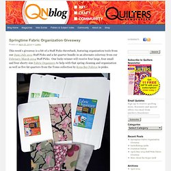 Inside Quilters Newsletter