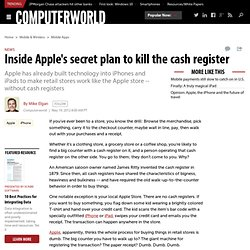 Inside Apple's secret plan to kill the cash register - wireless networking, wireless, networking, Mobile Apps and Services, Mobile and Wireless, Macintosh, internet, Financial IT, e-commerce, e-business, Apple