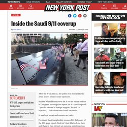 Inside the Saudi 9/11 coverup