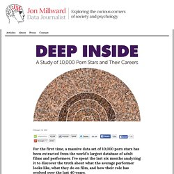 Deep Inside - A Study of 10,000 Porn Stars | Jon Millward - Blog