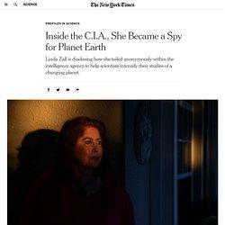 Inside the C.I.A., She Became a Spy for Planet Earth