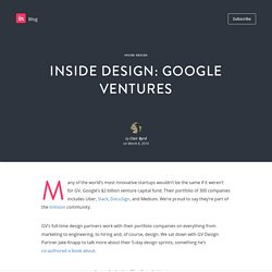 Inside Design: Google Ventures - InVision Blog