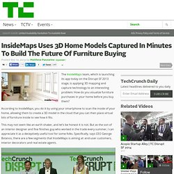 InsideMaps Uses 3D Home Models Captured In Minutes To Build The Future Of Furniture Buying