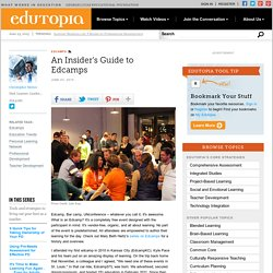An Insider's Guide to Edcamps