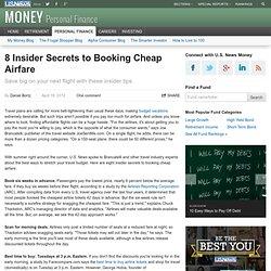8 Insider Secrets to Booking Cheap Airfare