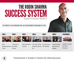 Robin Sharma Success System Supercharged