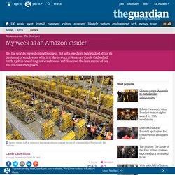 My week as an Amazon insider