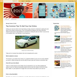 Insight Trends: Top Common Tips To Sell Your Car Online
