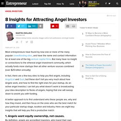 8 Insights for Attracting Angel Investors