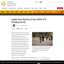 Insights from Big Data on How COVID-19 Is Changing Society