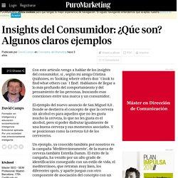Insights del Consumidor: ¿Qúe son? Algunos claros ejemplos