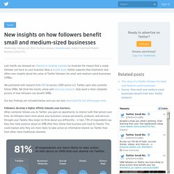 New insights on how followers benefit small and medium-sized businesses